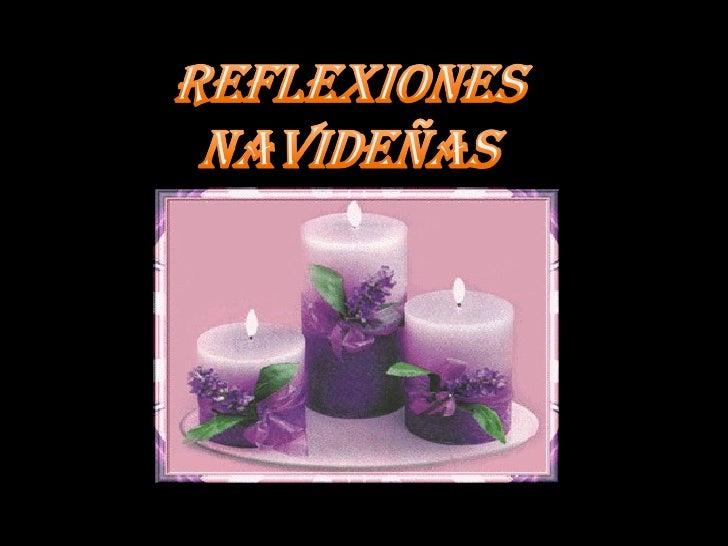Reflexiones Navidenas