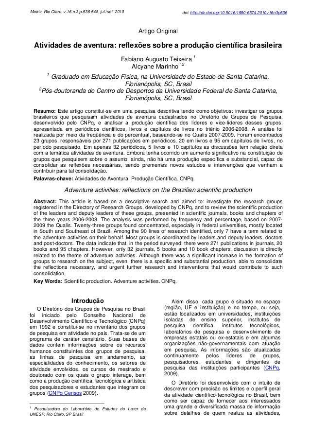 Motriz, Rio Claro, v.16 n.3 p.536-548, jul./set. 2010  doi: http://dx.doi.org/10.5016/1980-6574.2010v16n3p536  Artigo Orig...
