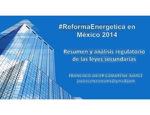 • I. Introducción • II. Resumen y análisis de las iniciativas • III. Impacto regulatorio • IV. Conclusiones