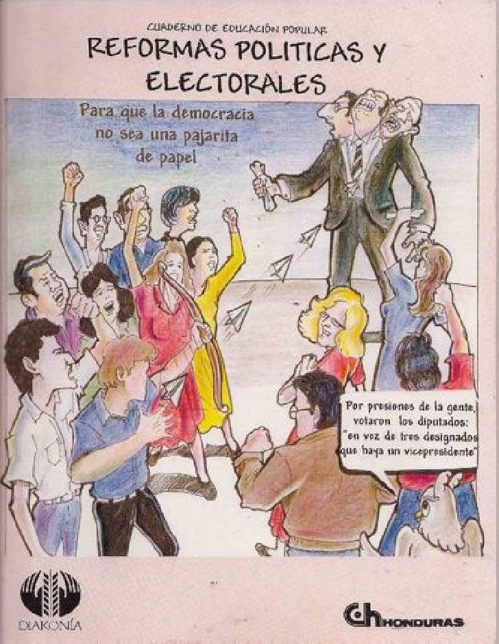 Reformas Políticas y electorales