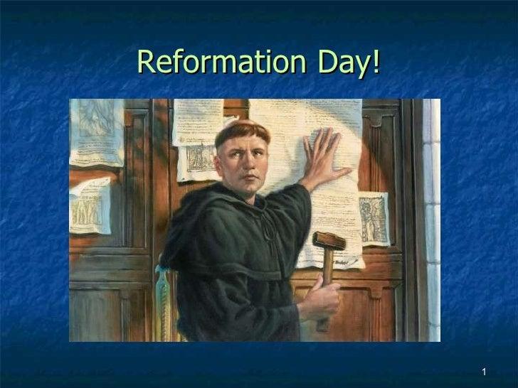Reformation Day!