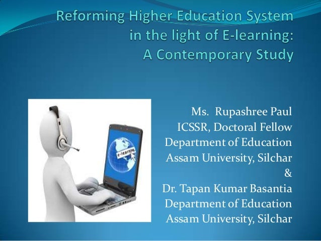Ms. Rupashree Paul   ICSSR, Doctoral FellowDepartment of EducationAssam University, Silchar                        &Dr. Ta...
