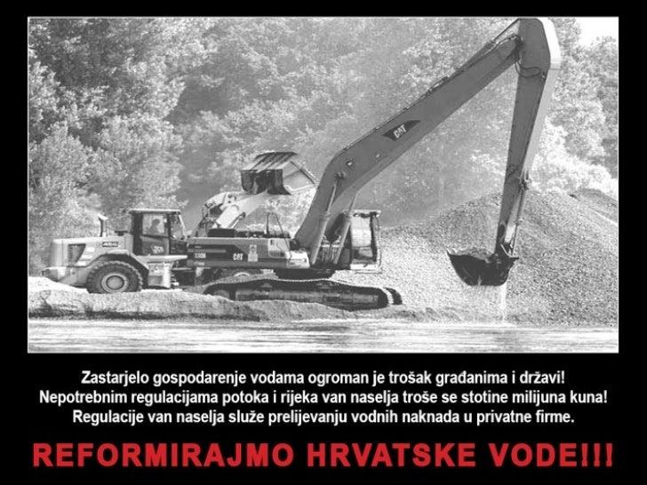 Reformirajmo hrvatske vode