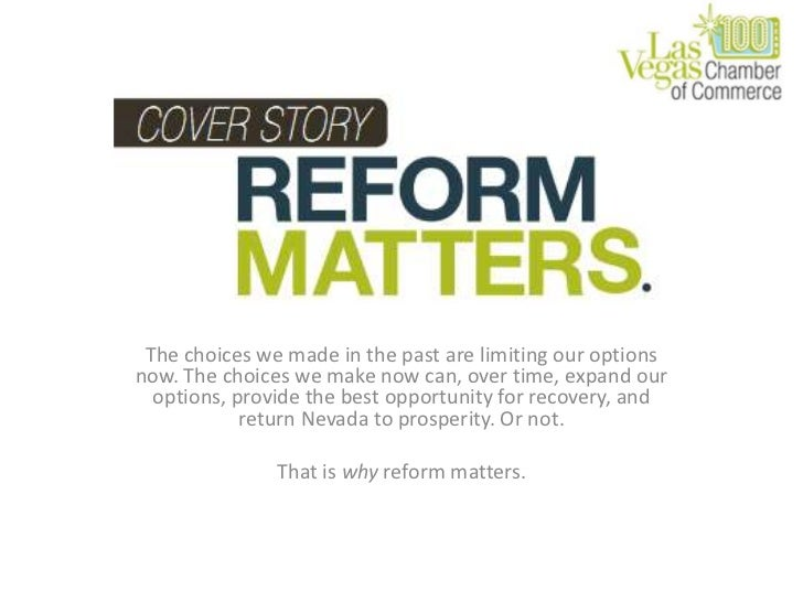 Reform Matters: March 2011 Business Voice Charts