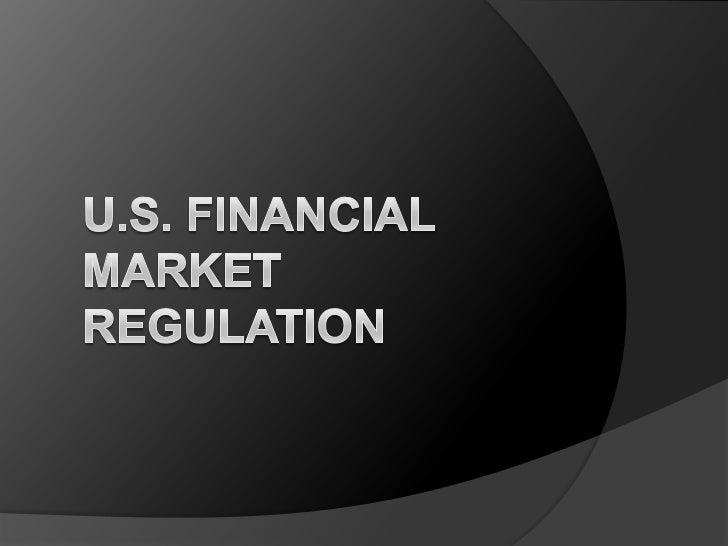 Agenda Comments on reform Reform timeline Financial Market regulation Recommendations Future of reform