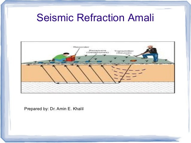 seismic Refraction lab intro