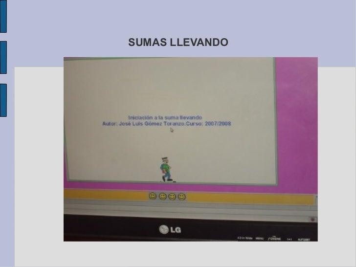 SUMAS LLEVANDO