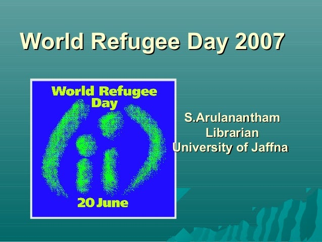 Refugees day 2009