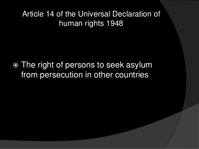 an overview of the 1951 convention relating to the status of refugees and the universal declaration  Overview the right to a nationality is of to the 1951 convention relating to the status to the status of refugees universal declaration of.