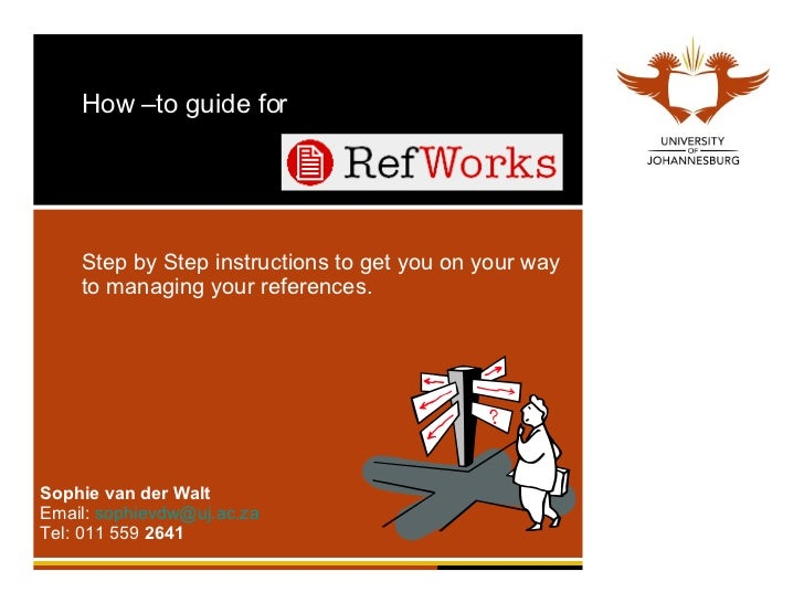 Refworks Guide Long
