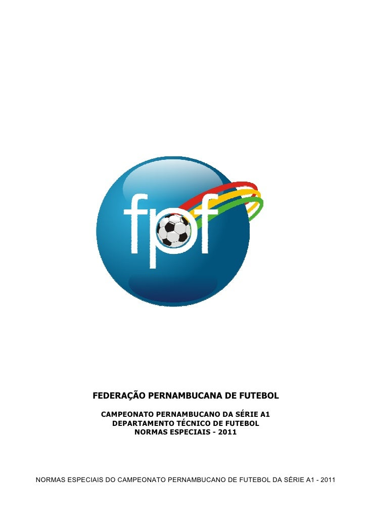 Regulamento do Campeonato Pernambucano 2011