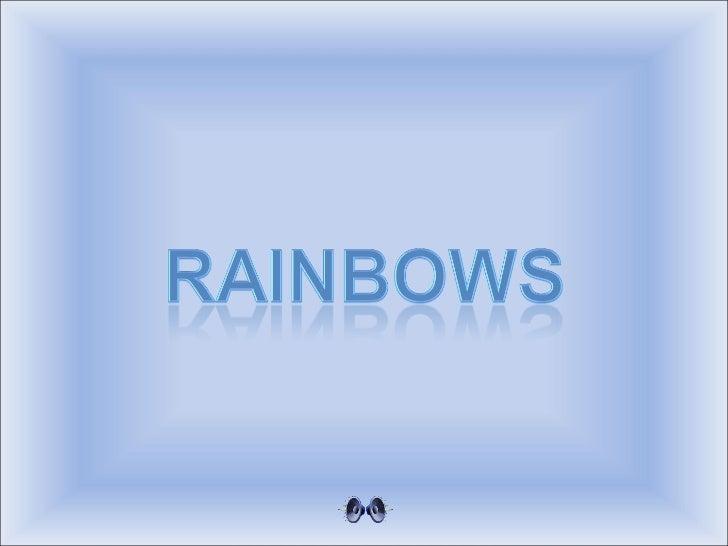 Regenboog - Rainbows - (td)