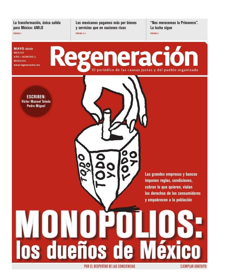 """La transformación, única salida   Los mexicanos pagamos más por bienes             """"Nos merecemos la Primavera"""". para Méxi..."""