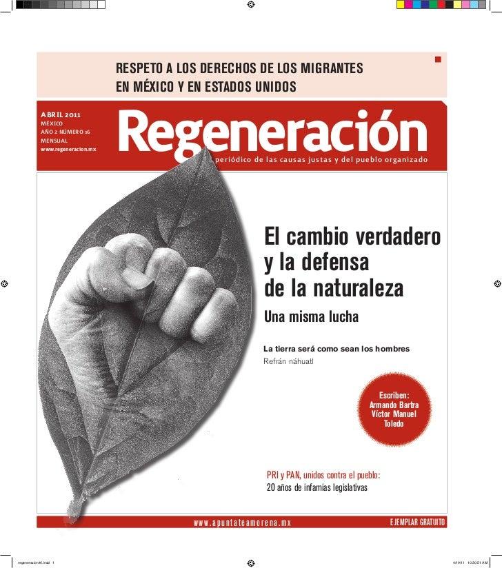 REspETo A los dEREchos dE los MigRAnTEs                                   En México y En EsTAdos Unidos             aBrIL ...