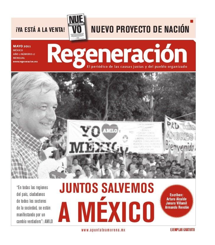 ¡YA EsTá A lA VENTA!                   NUEVO PROYECTO DE NACIÓNmayo 2011marzo 2011MÉXICOAÑO 2 NÚMERO 15MENsuAl            ...