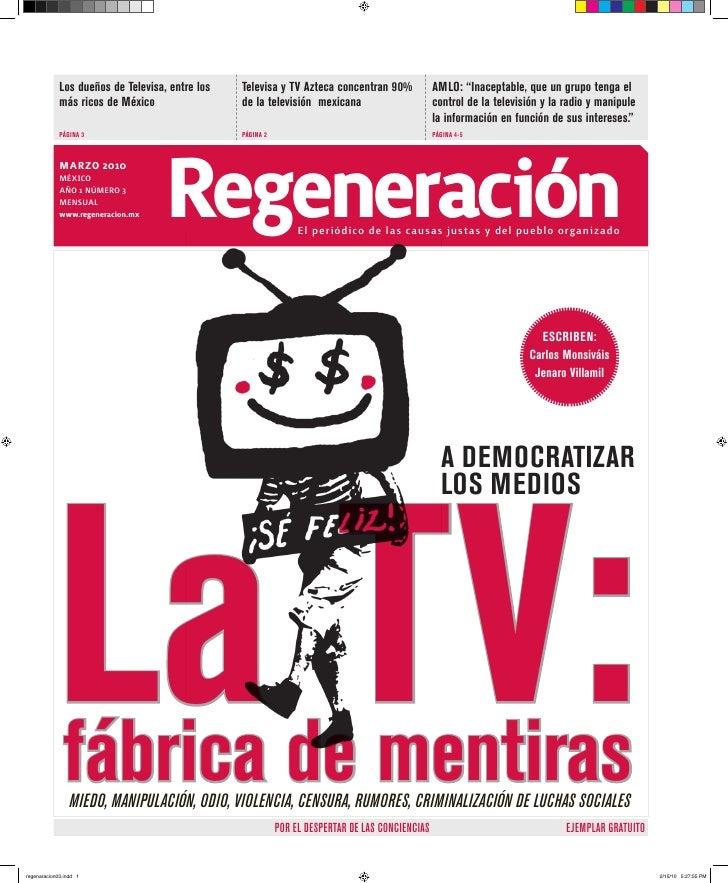 """Los dueños de Televisa, entre los   Televisa y TV Azteca concentran 90%              AMLO: """"Inaceptable, que un grupo teng..."""