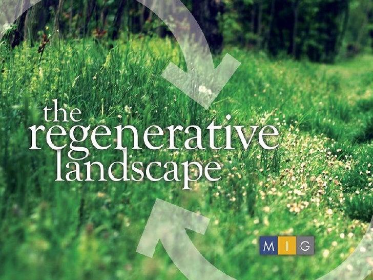 Regenerative Landscape Green Schools Summit Presentation