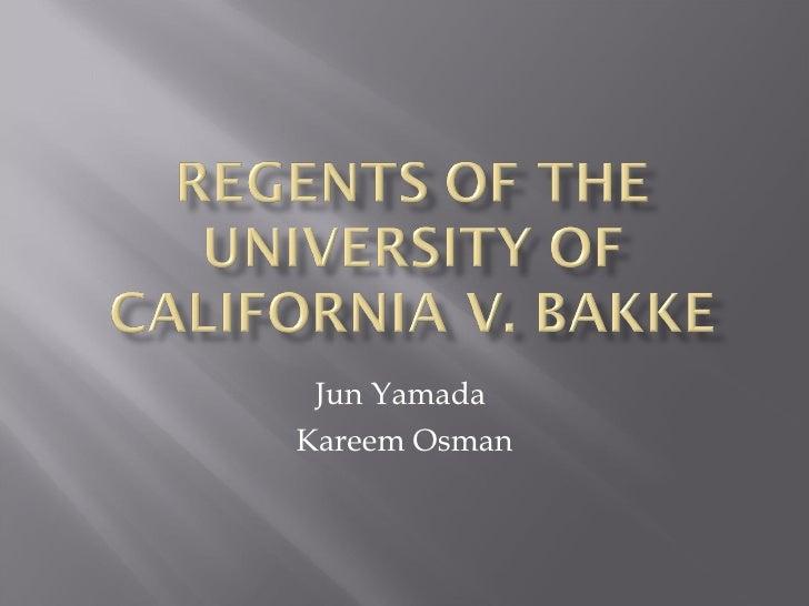 Jun Yamada  Kareem Osman