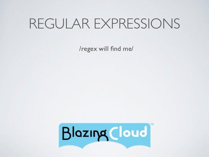 Reg EX