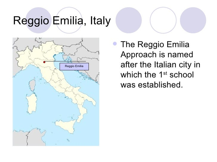 essay on reggio emilia approach