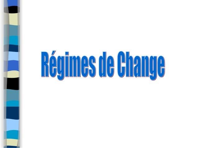 Introduction• Depuis l'effondrement de la parité fixe en 1976 etla multiplication des crises économiques, lesautorités mon...