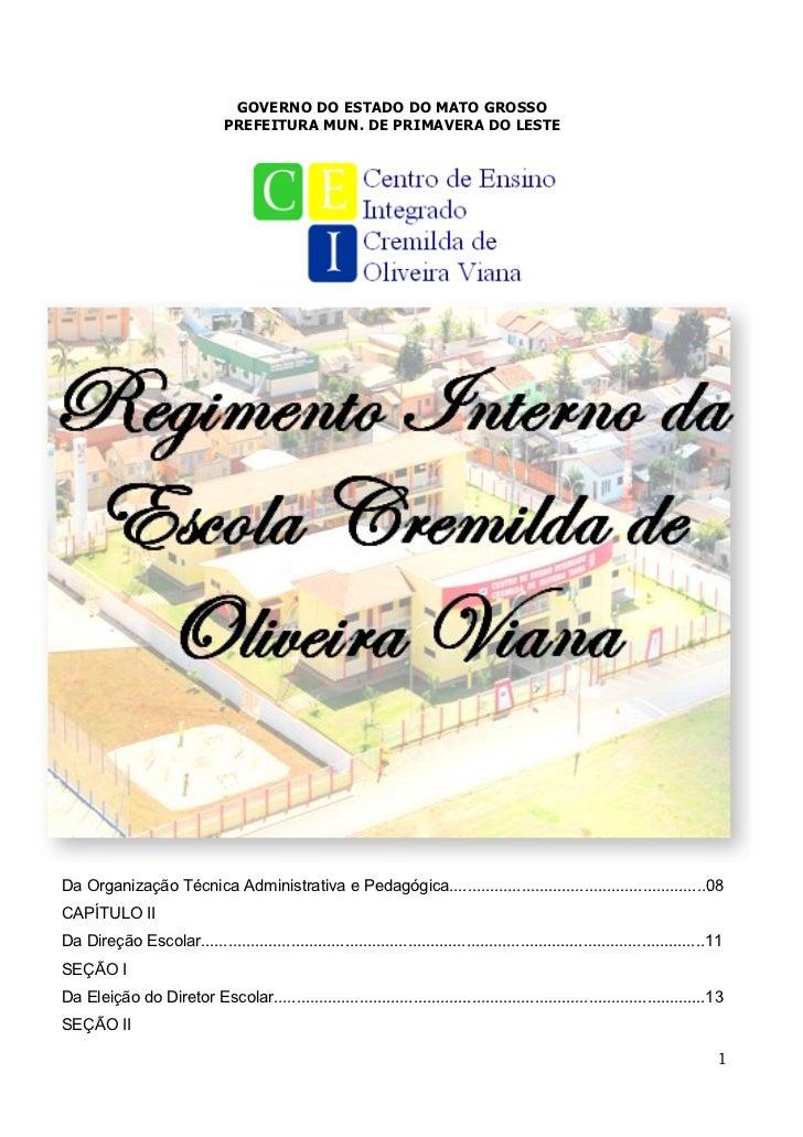 Regimento 2011