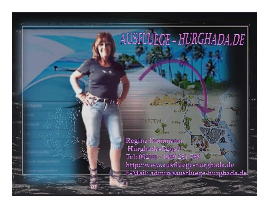 REGINA - HURGHADA/EGYPT - AUSFLUEGE-HURGHADA.DE