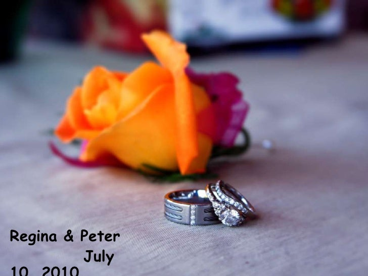 Regina & Peter<br />July 10, 2010<br />
