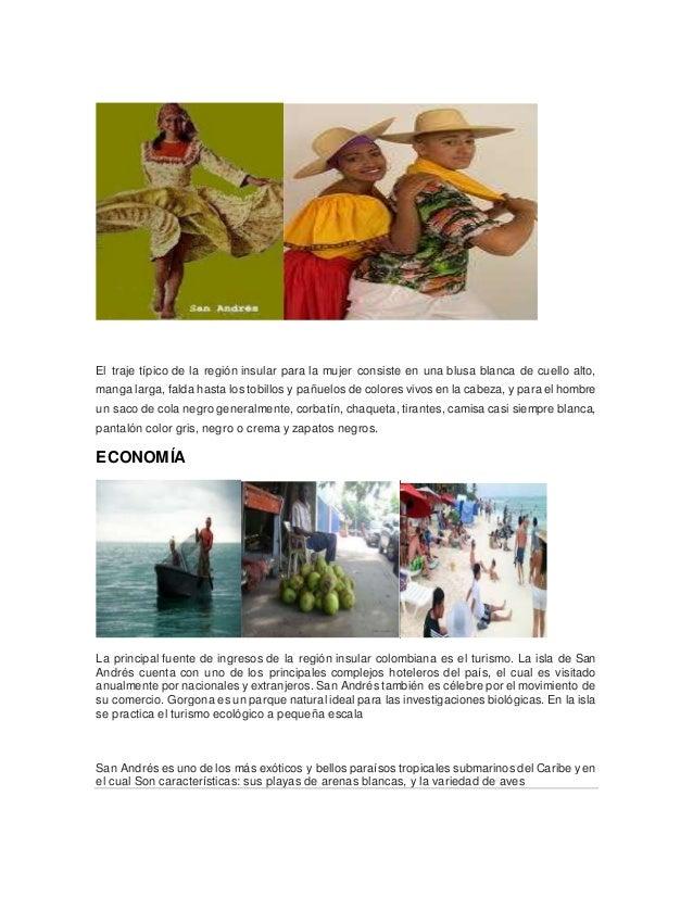 Traje Tipico de la Region Insular de Colombia el Traje Típico de la Región