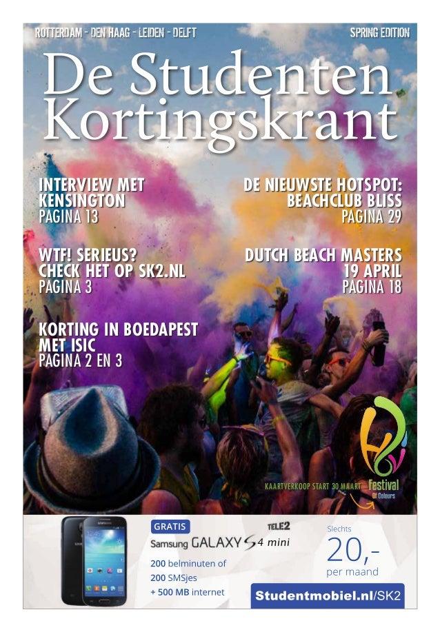 Studentmobiel.nl/SK2 4 mini 200 belminuten of 200 SMSjes + 500 MB internet GRATIS 20,-per maand Slechts spring editionRott...