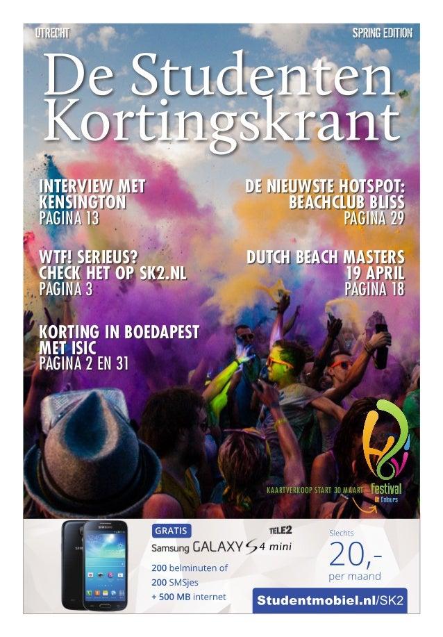 Studentmobiel.nl/SK2 4 mini 200 belminuten of 200 SMSjes + 500 MB internet GRATIS 20,-per maand Slechts spring editionUtre...