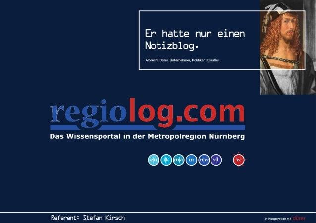 regiolog.com - Das Wissensportal in der Metropolregion Nürnberg