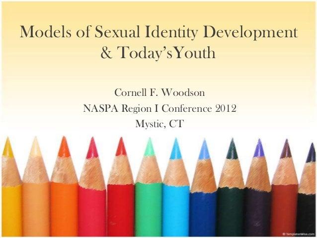 Models of Sexual Identity Development           & Today'sYouth            Cornell F. Woodson        NASPA Region I Confere...
