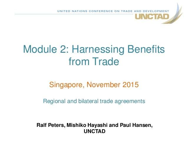 Benefits of a Potential Singapore-Sri Lanka Free Trade Agreement