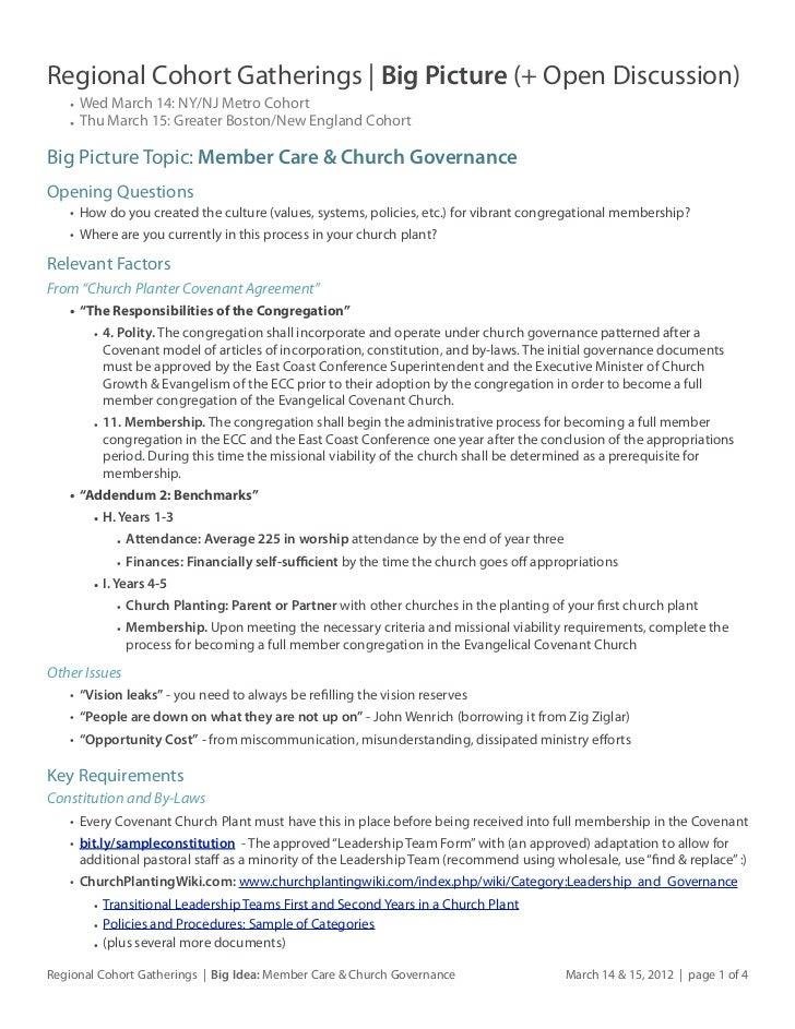 Regional Cohort Gatherings March 14 & 15, 2012