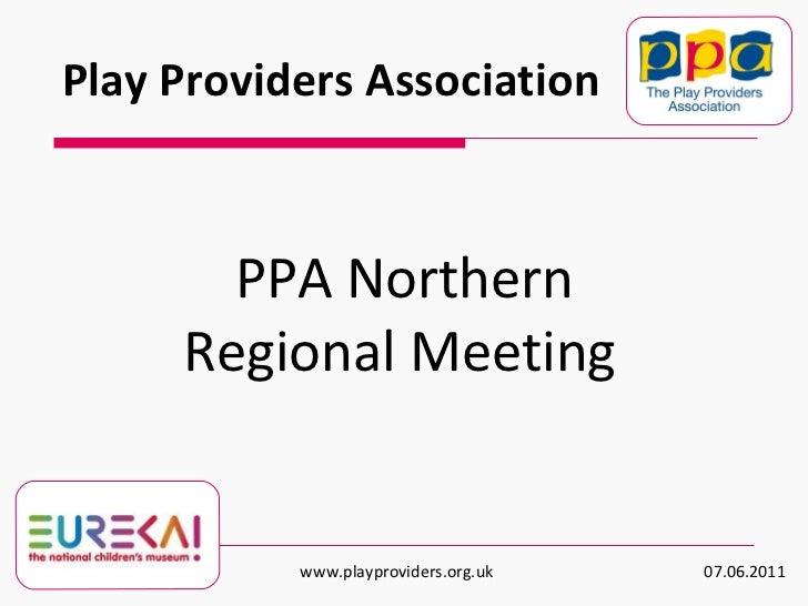 Regional Meeting Presentation- May/ June 2011