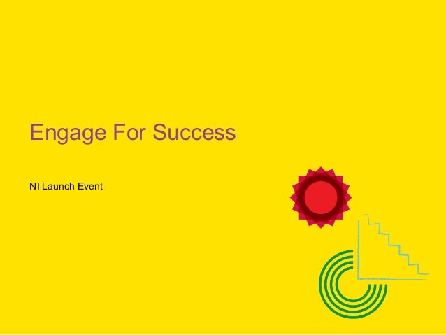 Engage For Success NI Launch Event
