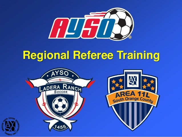 AYSO Regional Referee Course