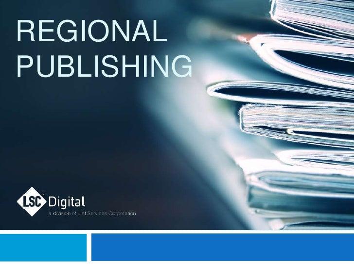 RegionalPublishing<br />