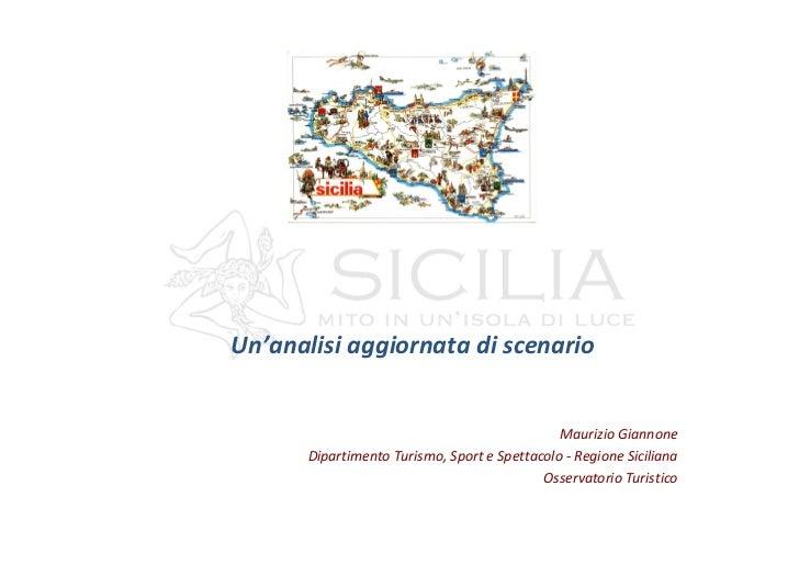Regione Siciliana - Maurizio Giannone - Analisi aggiornata - 20 e 21 giugno 2012