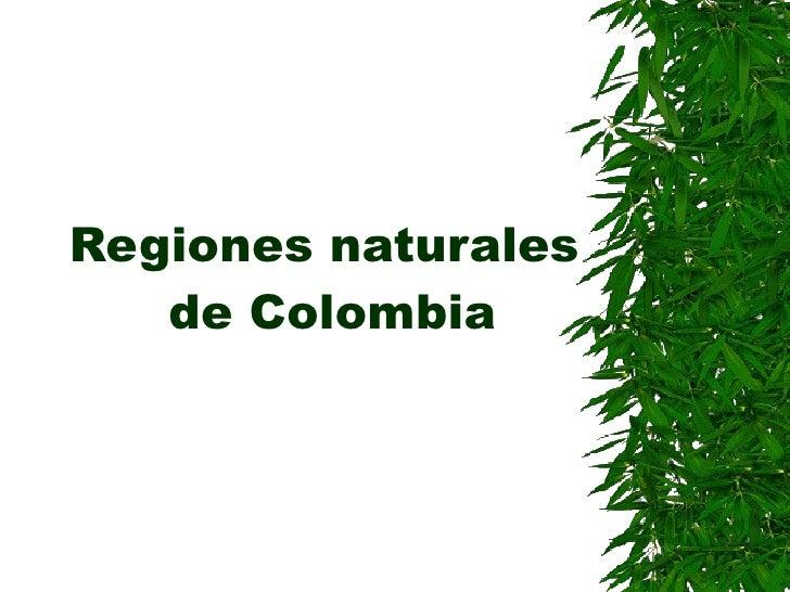 Regiones naturales  de colombia (sociales)11 4