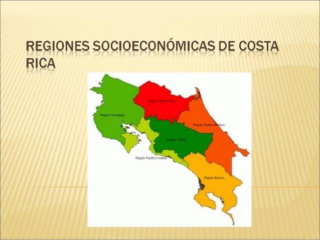 Es la región que concentra las actividades administrativas y económicas del país. Es llamada también El Valle Central. Tie...