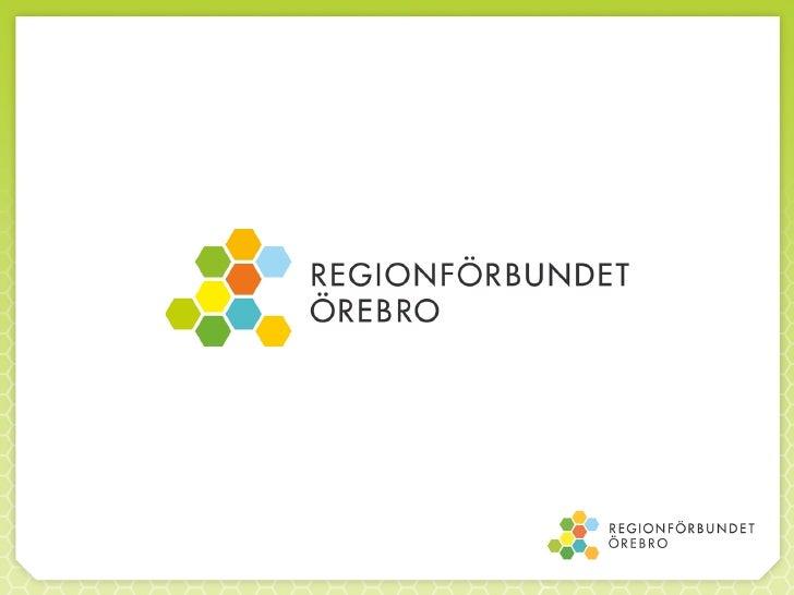 Regionförbundet presentation