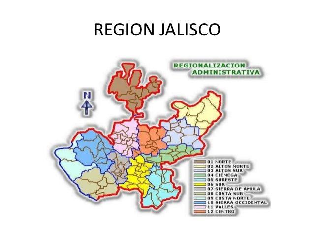 Region jalisco