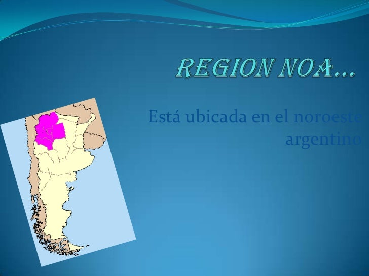 Region noa