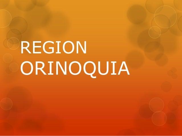 REGIONORINOQUIA