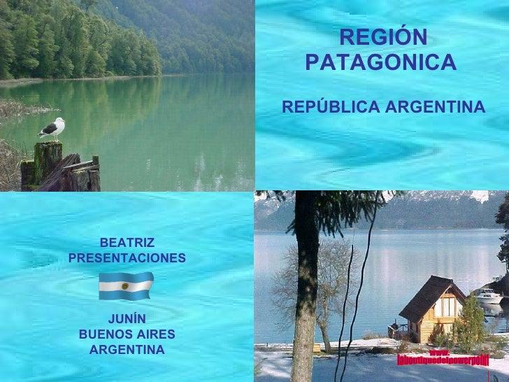 Región patagonica Argentina