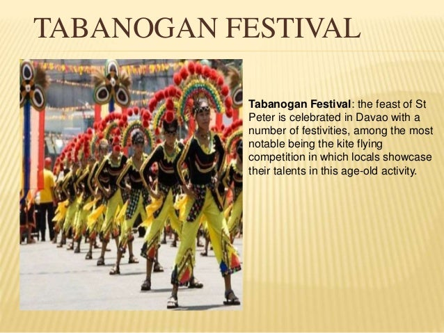 festivals in davao region essay Davao city tourism: tripadvisor has 24,617 reviews of davao city hotels, attractions, and restaurants making it your best davao city resource.