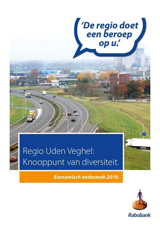 Regionaal economisch onderzoek Uden Veghel, volledige rapport