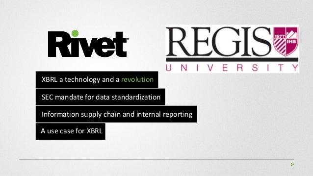 Regis Rivet IMA Presentation